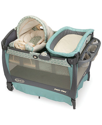 Graco Pack N Play 174 Playard With Cuddle Cove Rocking Seat