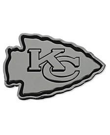 Kansas City Chiefs Metal Auto Emblem