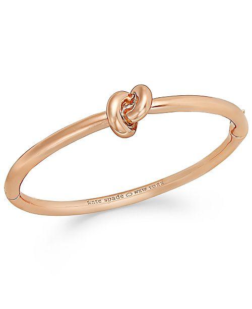 Kate Spade New York Bracelet Sailor S Knot Hinge Bangle 23 Reviews 78 00 Main Image
