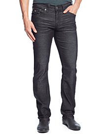 True Religion Men's Ricky Relaxed Straight Fit Corduroy Pants