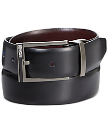 Kenneth Cole Reaction Matte Plaque Men's Reversible Belt