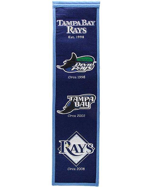 Winning Streak Tampa Bay Rays Heritage Banner & Reviews