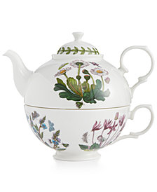Portmeirion Drinkware, Botanic Garden Tea Set for One