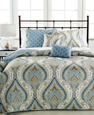 Winthrop 5 Piece King Reversible Coverlet Set