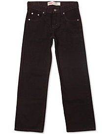 Levi's® 550 Relaxed-Fit Jeans & 514 Slim-Straight Jeans, Big Boys