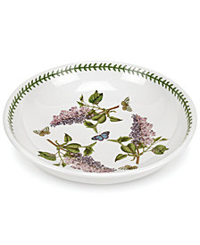 Portmeirion Dinnerware, Botanic Garden Pasta/Low Open Fruit Bowl