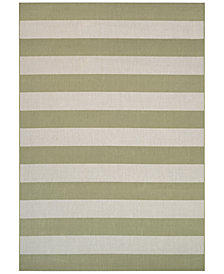 "Couristan Indoor/Outdoor Afuera Yacht Club 6'6"" x 9'6"" Area Rug"
