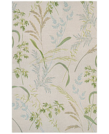 "Couristan Indoor/Outdoor Area Rug, Dolce 7259/0110 Sand Dune Beige-Multi 5'3"" x 7'6"""