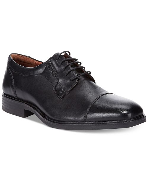 Johnston & Murphy Tillman Waterproof Cap-Toe Oxfords Men's Shoes S0trSPUK