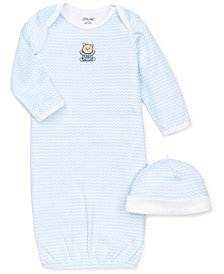Little Me Baby Boys Chevron Hat & Gown Set