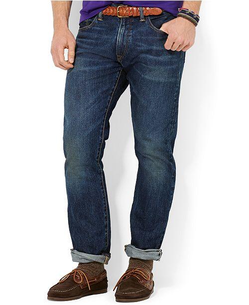 8ab5bc7d Polo Ralph Lauren Men's Varick Slim Straight Jean & Reviews - Jeans ...