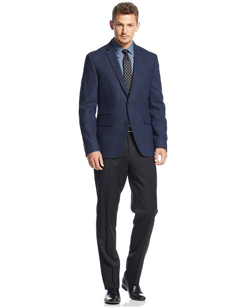 Bar III Carnaby Collection Slim Fit  Sport Coat & Dress Pants
