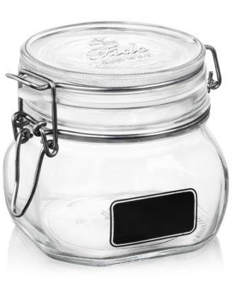 Fido Chalk Label Small Jar, 17.5 oz.
