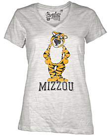 Royce Apparel Inc Women's Short-Sleeve Missouri Tigers V-Neck T-Shirt