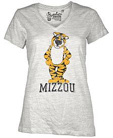 Royce Apparel Inc Women's Short-Sleeve Missouri Tigers V-Neck T-Shirt