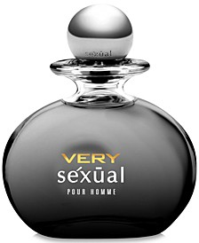 Men's very sexual pour homme Eau De Toilette Spray 4.2 oz, Created for Macy's