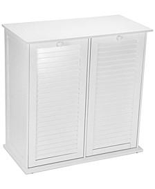 Tilt Out Laundry Double Sorter Cabinet