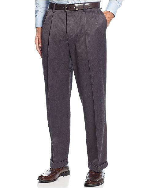 b7d8703eb0 ... Dockers Men s Stretch Relax Fit Iron Free Khaki Pants Pleated ...
