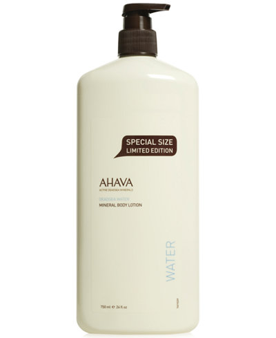 Ahava Mineral Body Lotion Special Size Limited Edition, 24 oz
