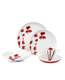 Mikasa Dinnerware, Pure Red Collection