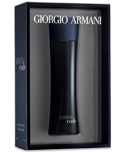Giorgio Armani Armani Code for Men Eau de Toilette, 6.7 oz - Limited Edition