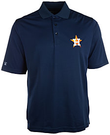 Antigua Men's Houston Astros Extra Lite Polo