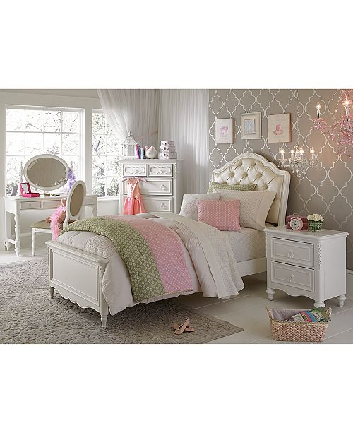 Princess Kids Bedroom Sets Interior Of Master Bedroom Newborn Boy Bedroom Ideas Bedroom For Kids: Furniture Celestial Kid's Upholstered Full Bed