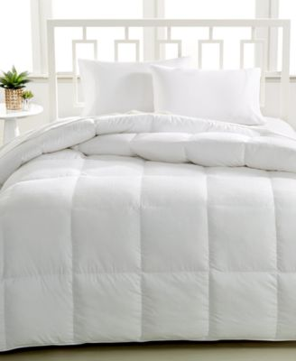 Luxe Down Alternative Twin Comforter, Hypoallergenic, 450 Thread Count 100% Cotton Cover, Created for Macy's