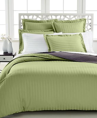 Closeout Charter Club Damask Stripe 500 Thread Count Pima