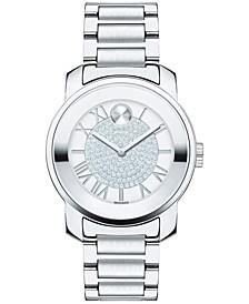 Women's Swiss Bold Stainless Steel Bracelet Watch 32mm 3600254