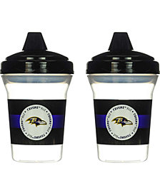 Baby Fanatics Baltimore Ravens 2-Pack Sippy Cups