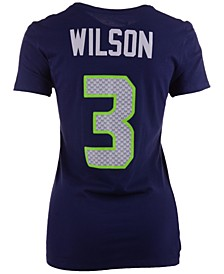 Women's Russell Wilson Seattle Seahawks Player Pride T-Shirt