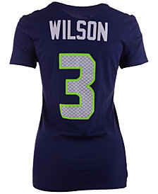 Nike Women's Russell Wilson Seattle Seahawks Player Pride T-Shirt