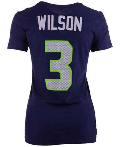 Nike women 39 s russell wilson seattle seahawks player pride for Russell wilson womens t shirt
