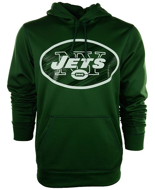 Nike Men's New York Jets Warp Performance Hoodie