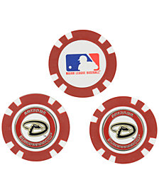 Team Golf Arizona Diamondbacks 3-Pack Poker Chip Golf Markers