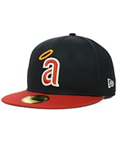 New Era Los Angeles Angels of Anaheim MLB Cooperstown 59FIFTY Cap c865d66fba4a