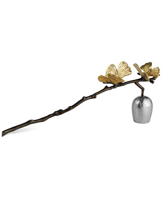 Butterfly Ginkgo Candle Snuffer by Michael Aram