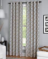 Elrene Creston Window Collection - Easy Care Linen Look!
