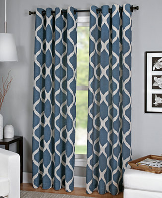 Elrene Luna Window Collection Easy Care Linen Look Window Treatments For The Home Macy 39 S