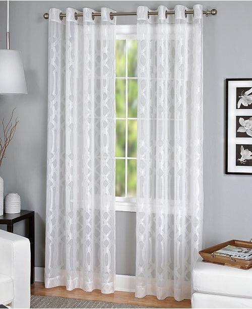 Elrene Latique Sheer Window Collection