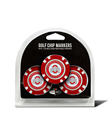 Team Golf Ohio State Buckeyes 3-Pack Poker Chip Golf Markers
