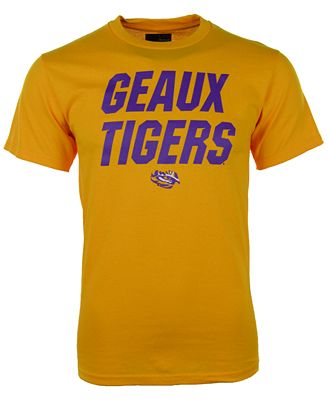 vf licensed sports group men 39 s lsu tigers slogan t shirt. Black Bedroom Furniture Sets. Home Design Ideas