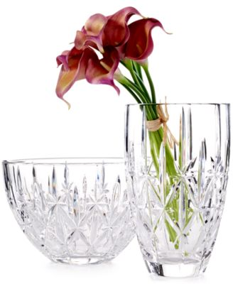 Marquis By Waterford Sparkle Vase Bowls Vases Macys