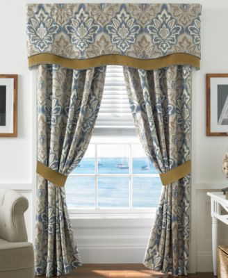 "CLOSEOUT! Captain's Quarters 67"" x 18"" Window Valance"