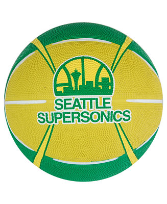 Spalding Seattle SuperSonics Size 3 Logo Basketball ...