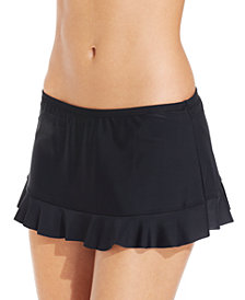Hula Honey Ruffled Swim Skirt, Created for Macy's