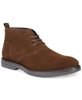 Alfani Men's Tripp Suede Chukka Boots, Only at Macy's - All Men's ...