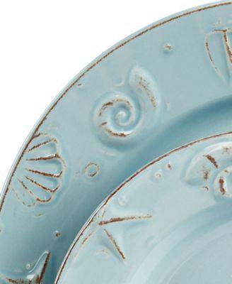 main image ...  sc 1 st  Macy\u0027s & Thomson Pottery Cape Cod 16-Pc. Set Service for 4 - Dinnerware ...