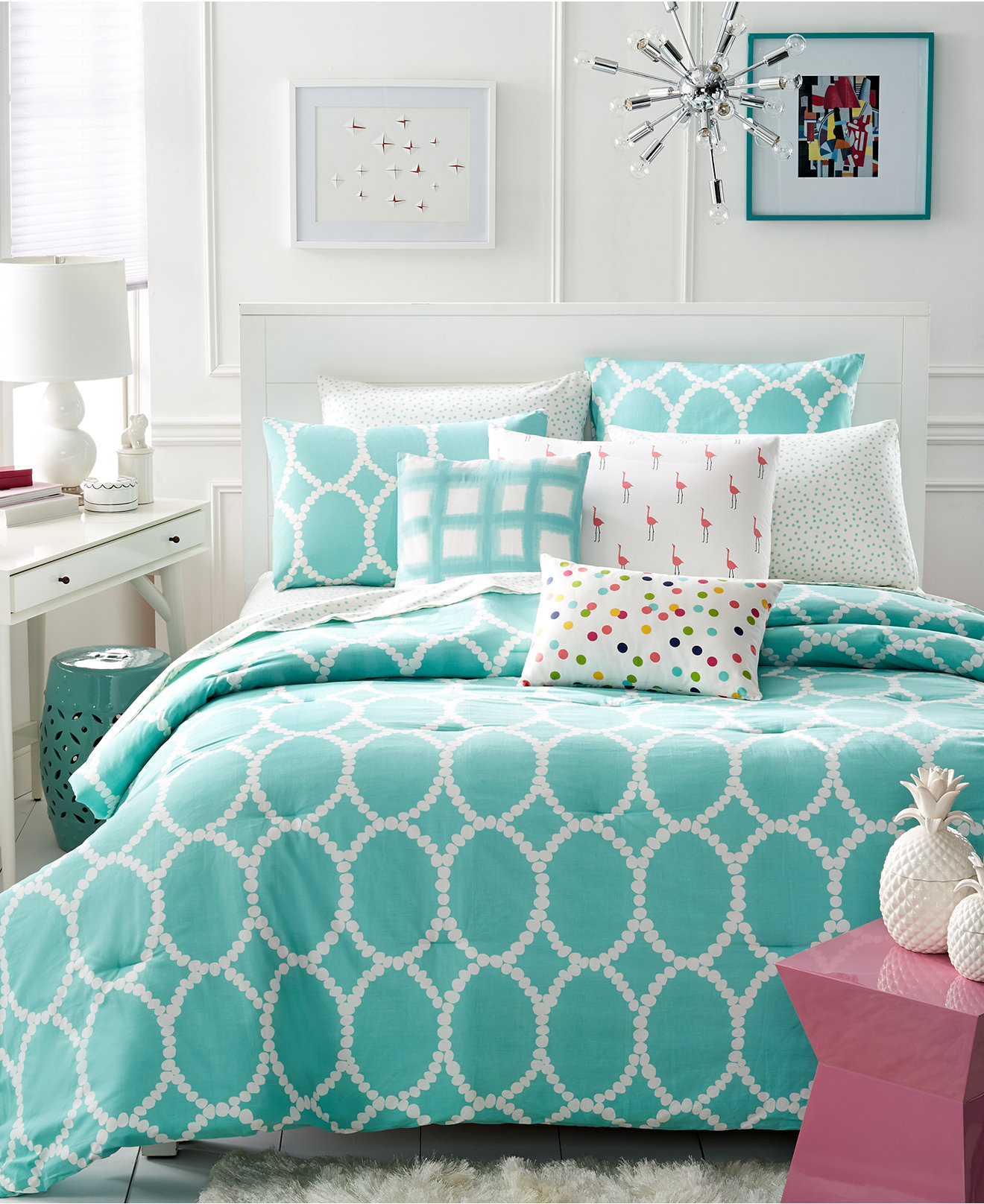 Whim By Martha Stewart Collection Mirror Mirror Bedding Collection Kids Baby Bedding Bed Bath Macy S